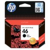 Картридж HP №46 Black Deskjet 2020/2520/4729 (1500стр.) CZ637AE
