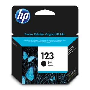 Картридж HP №123 Black DeskJet 2130, HP Officejet 5255 (о)  F6V17AE  120стр.