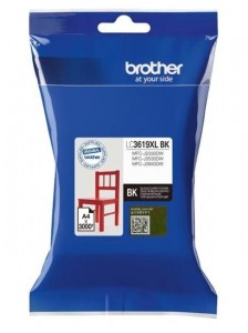 Картридж Brother LC3619XLBK черный для Brother MFC-J3530DW/J3930DW (3000стр.)