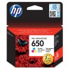 Картридж HP №650 Tri-color Deskjet 1515|2515|2615|4515  Ink Cartridge (o) CZ102AE 200стр.