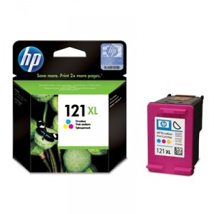 Картридж HP №121XL CC644HE Tri-colour Ink Cartridge with Vivera Ink (o)
